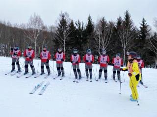 中学校 スキー学習