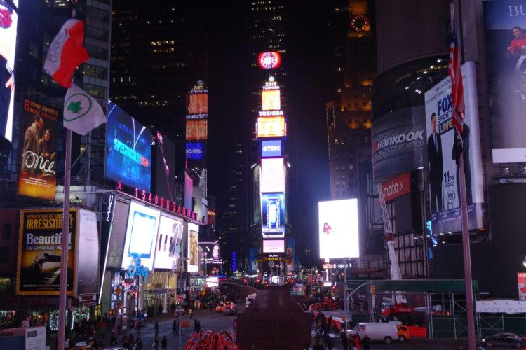 ニューヨーク!