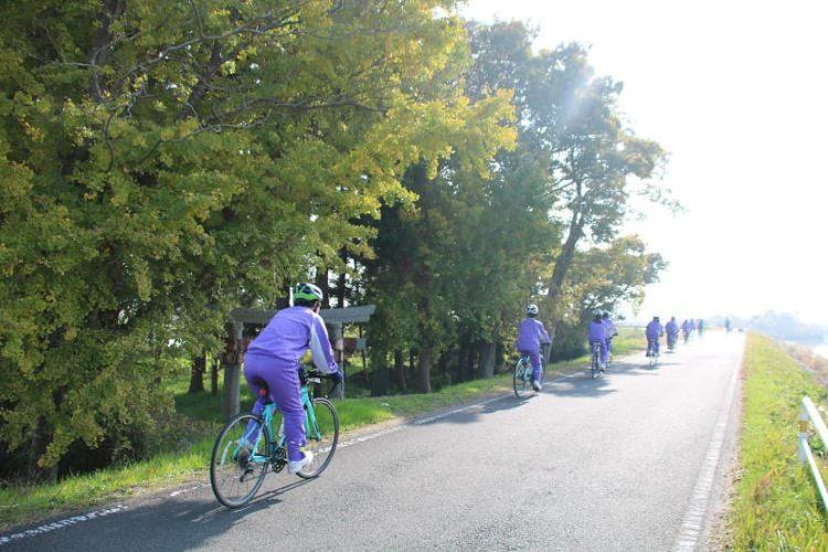 明光中様 サイクルツアー