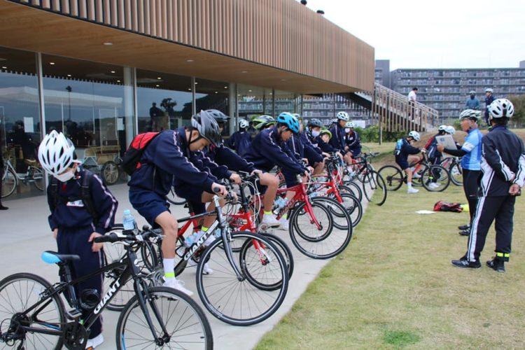 水戸第二中学校サイクルツアーを実施しました