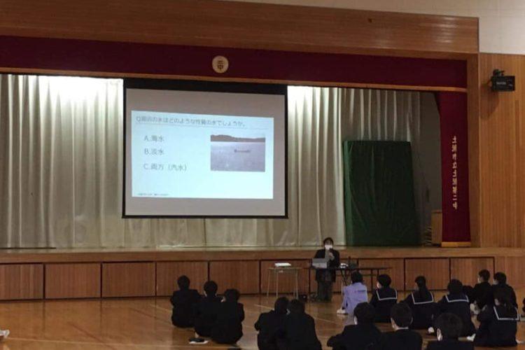 土浦二中 校外学習説明会を行いました