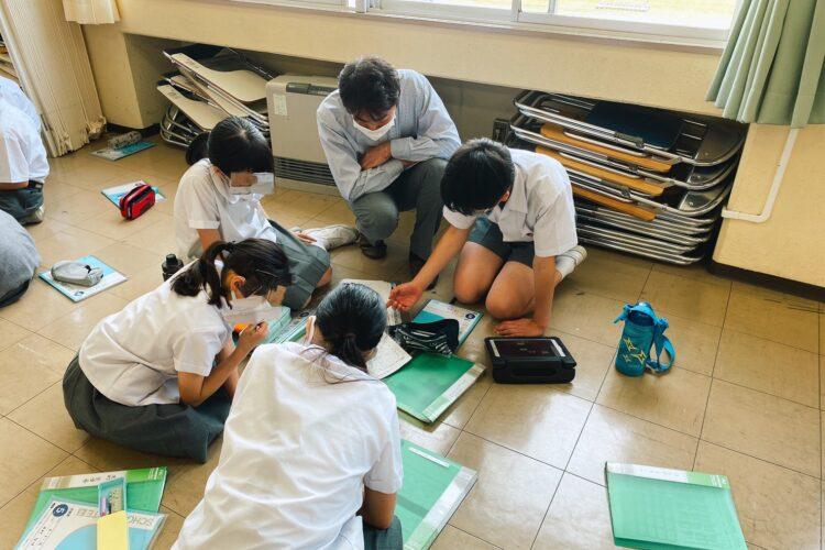 茨城大学教育学部附属小学校の授業に参加しました。