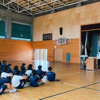 校外学習の説明会-常陸大宮市立の中学校-
